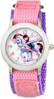 Disney Kids' W001939 Sofia Analog Display Analog Quartz Pink Watch