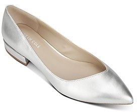 Kenneth Cole Women's Camelia Pointed-Toe Ballet Flats