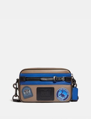Coach Camera Bag With Mythical Monsters Patches