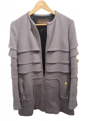 Louis Vuitton Grey Cotton Coats