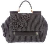 Dolce & Gabbana Miss Sicily Knit Bag