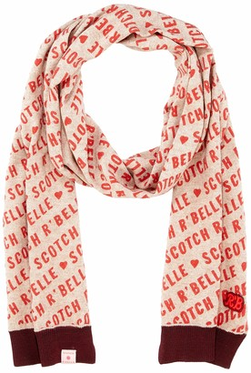 Scotch & Soda RBelle Girl's Allover Printed Knitted Scarf