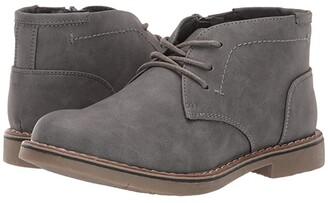 Steve Madden Bchuka (Toddler/Little Kid/Big Kid) (Grey) Boys Shoes