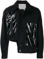 A-Cold-Wall* asymmetric insert detail jacket