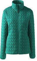 Classic Women's Petite Packable Primaloft Jacket-Champagne Marin Botanical