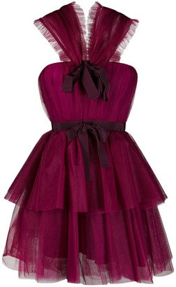 Brognano Ruffle Design Dress