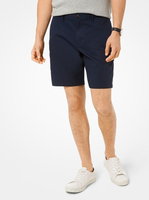 Michael Kors Washed Poplin Shorts