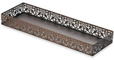 Bed Bath & Beyond Steel Lace Toilet Tank Tray