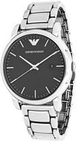 Giorgio Armani Emporio Luigi AR2499 Men's Stainless Steel Watch with Black Dial