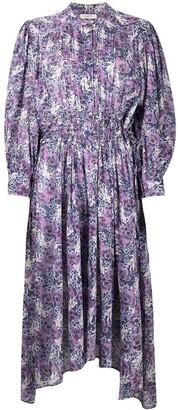 Etoile Isabel Marant Floral-Print Shirt Dress
