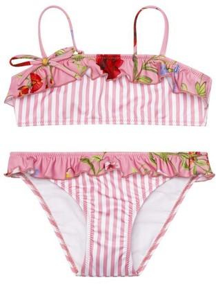 Oscar de la Renta Botanical Two-Piece Swimsuit