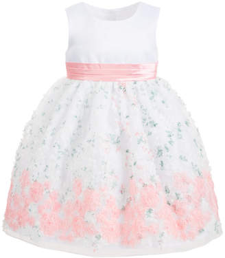 Blueberi Boulevard Little Girls Floral Soutache Dress