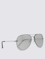 M&S Collection Refined Aviator Sunglasses