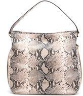Hogan New Hobo Python Leather Bag