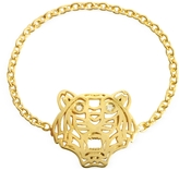 Kenzo Gold Plated Mini Tiger Ring