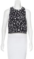 Rachel Zoe Sleeveless Crew Neck Top
