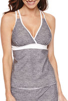 Free Country Solid Tankini Swimsuit Top
