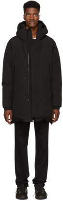 Moncler Black Crepel Jacket