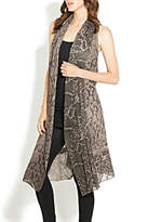 Adore Multifabric Lace Vest