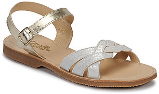 Citrouille et Compagnie MADELLE girls's Sandals in Silver