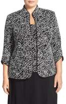 Alex Evenings Plus Size Women's Foiled Print Twinset (Plus Size)