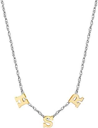 Jane Basch Designs 3-Initial Necklace
