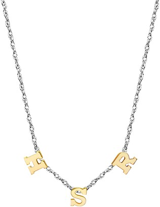 Jane Basch Designs 3-Initial Necklace