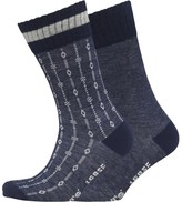 Levi's Aztek Two Pack Socks Indigo