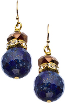 Lapis MINU Jewels Crystal Drop Earrings