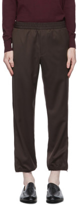 Brioni Brown Wool Trousers