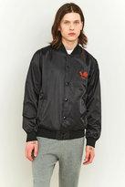 Obey Viktor Black Satin Embroidered Jacket