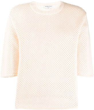 YMC Open-Knit Cotton Top