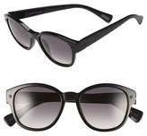 Lanvin Men's 50Mm Retro Sunglasses - Black