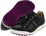 Ecco Golf Street Luxe (Black/Black) - Footwear