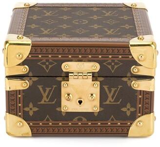Louis Vuitton Pre-Owned logo print watch case