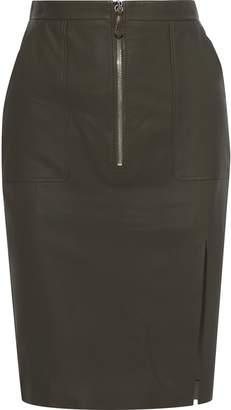 Altuzarra Leather Pencil Skirt
