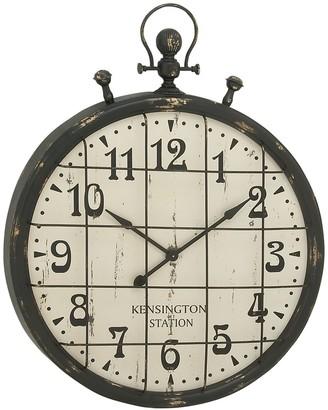 Willow Row Metal & Wood Wall Clock