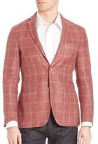 Corneliani Plaid Blazer