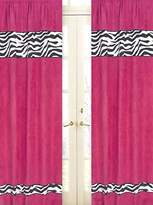 JoJo Designs Funky Zebra Window Treatment Panels by Sweet Set of 2