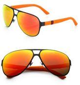 Gucci Metal Navigator Sunglasses