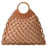 Michael Kors Cooper Woven Leather Tote - None