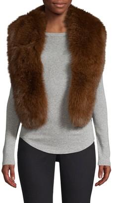 Pologeorgis Pull-Through Fox Fur Scarf