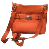 Hermes Jypsiere leather crossbody bag
