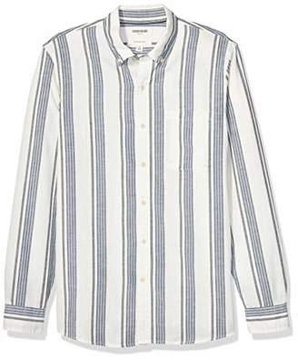 Goodthreads Slim-fit Long-sleeve Pattern Chambray Shirt Button,(EU S)