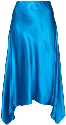 Sies Marjan Asymmetric Midi Skirt