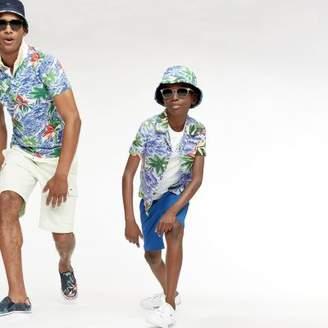 Tommy Hilfiger Palm Print Linen Shirt