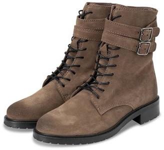 Ya-Ya Suede Lace Boots - 39