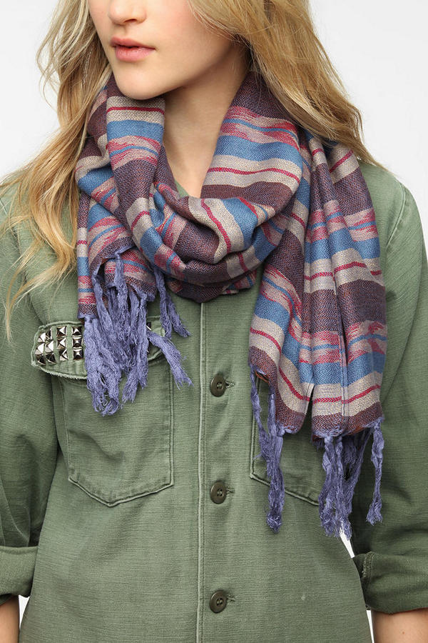 Urban Outfitters Woven Oblong Scarf