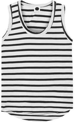 Bassike Striped Organic Cotton-jersey Tank