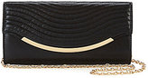 Kate Landry Wave Quilted Flap Clutch